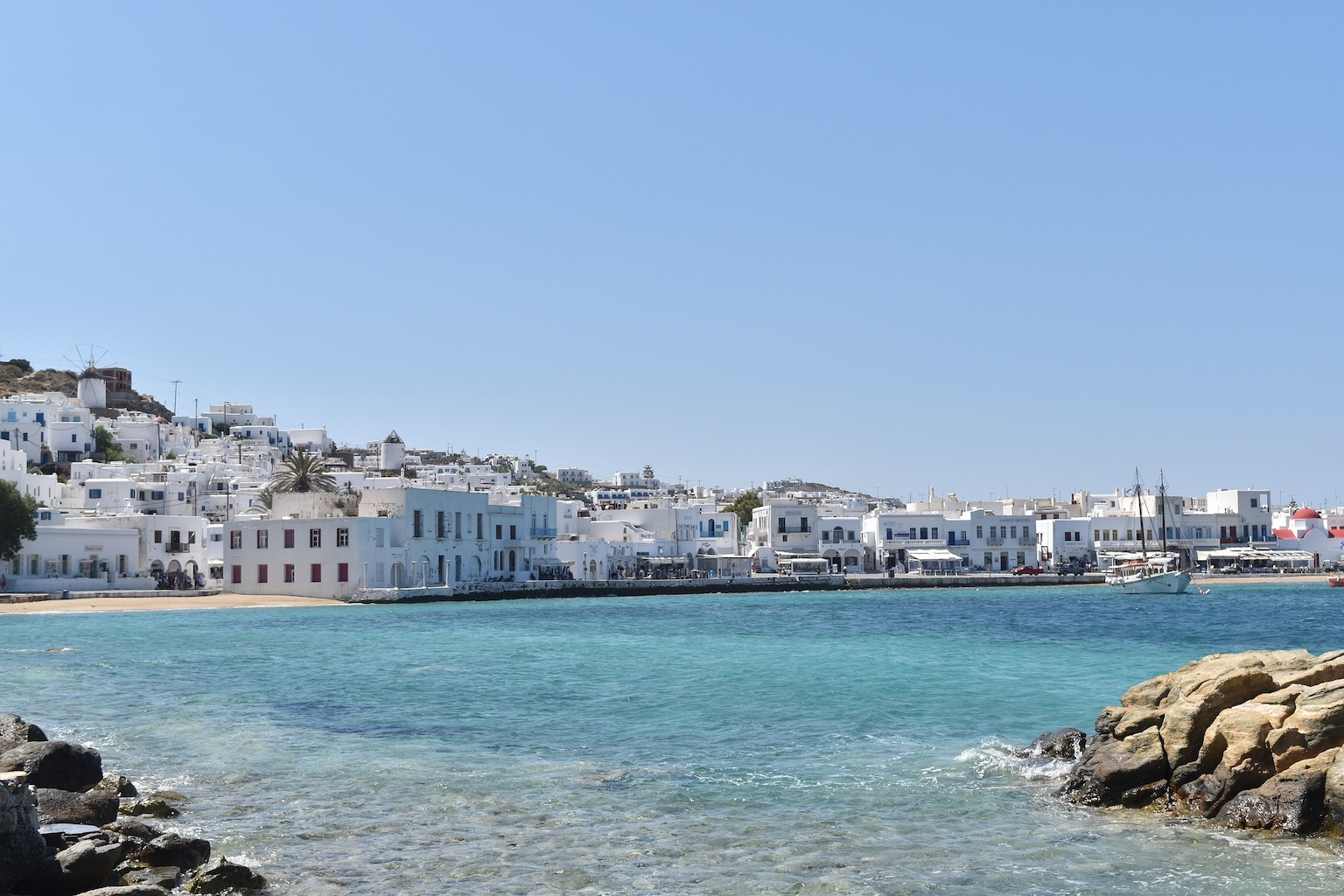 How to get from Athens to Mykonos I Your route to your Mykonos Luxury Villa