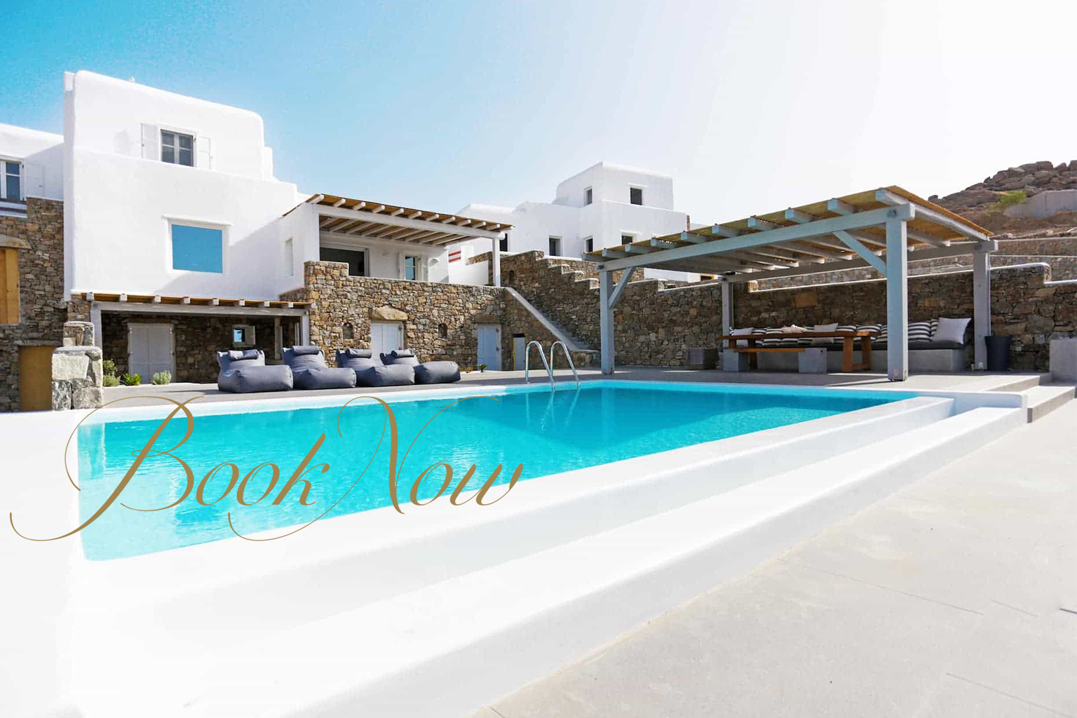 Are you a family or group of up to nine people ready to book a Mykonos Villa in June?