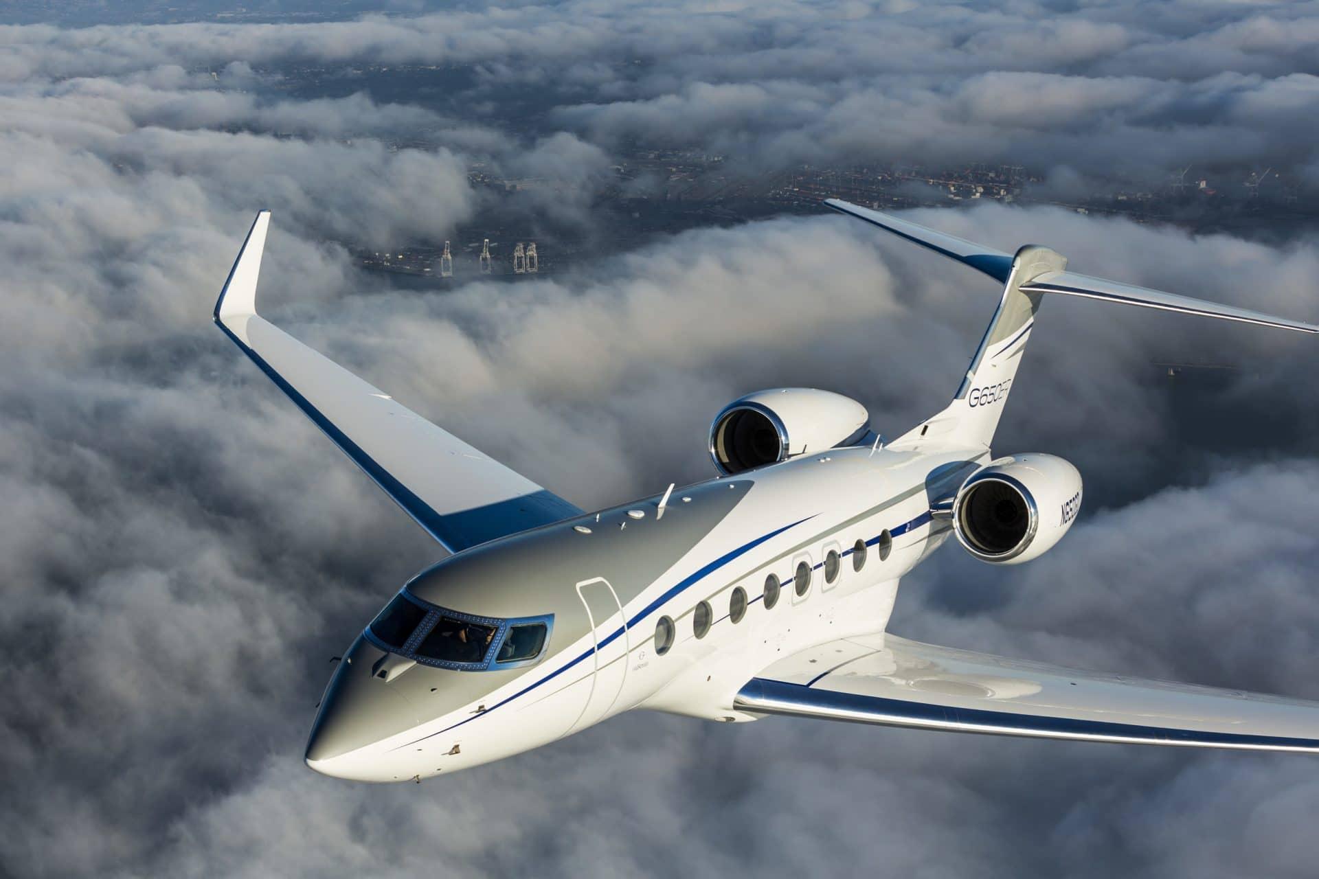 Gulfstream G650ER. Higher, Faster, Further
