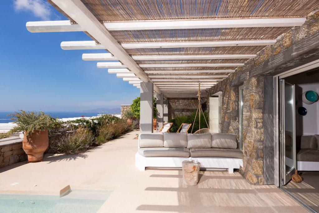 Mykonos luxury villa Alena14