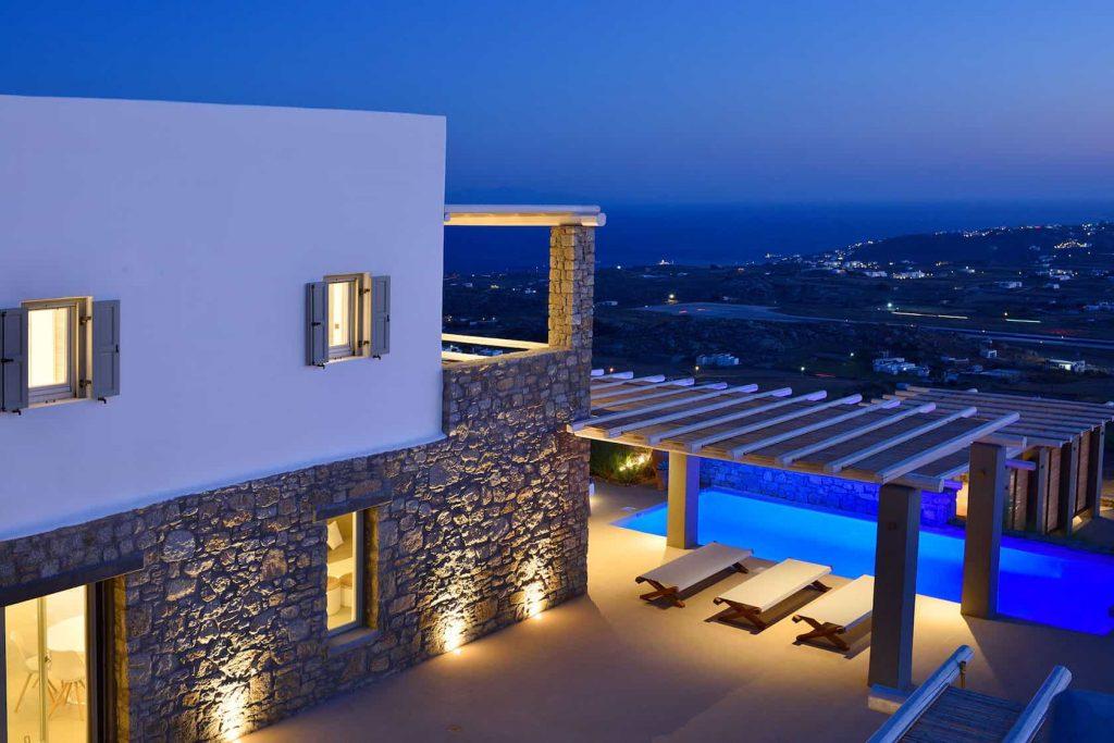 Mykonos luxury villa Alena22