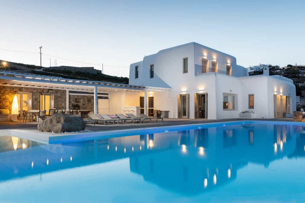 Mykonos luxury villa Aliki45