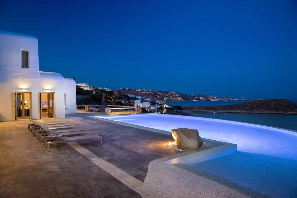Mykonos luxury villa Aliki46