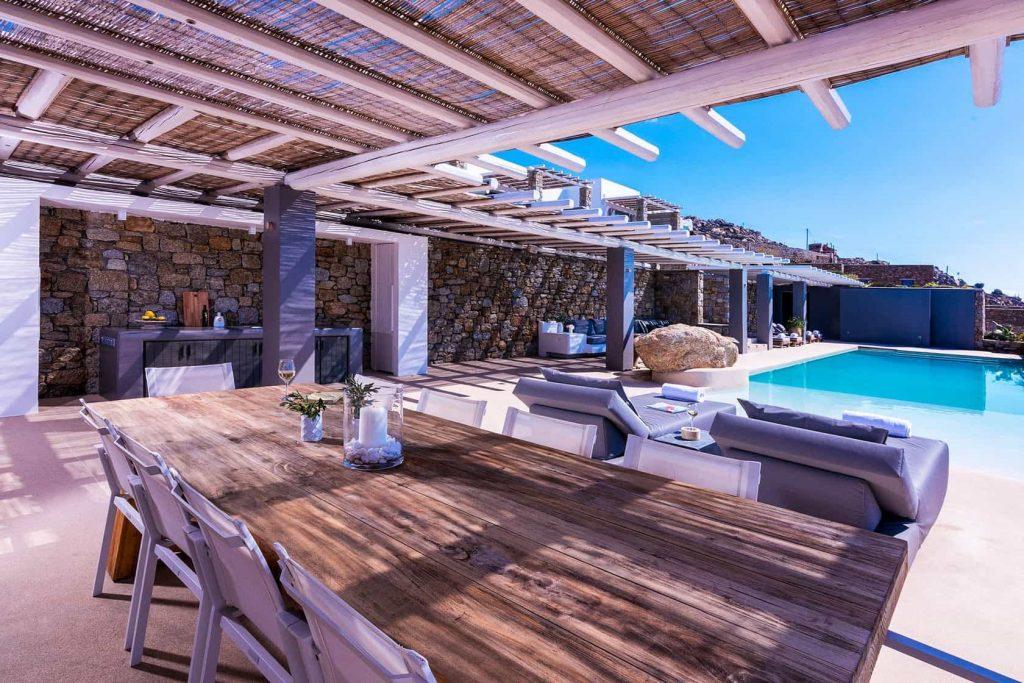 Mykonos luxury villa Athina45