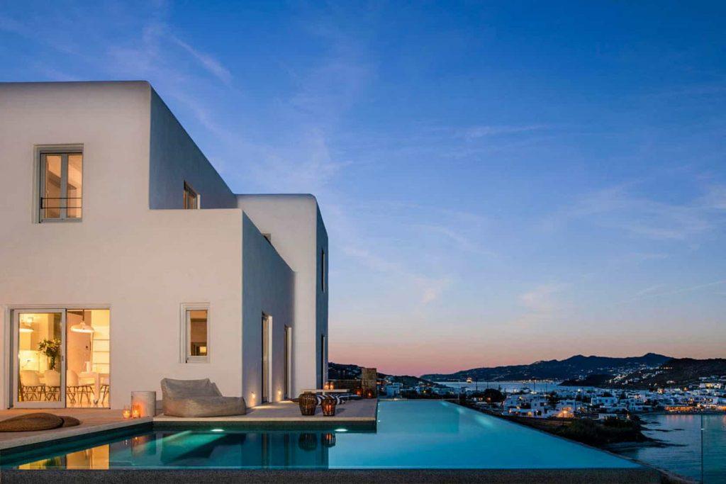 Mykonos luxury villa Bella24