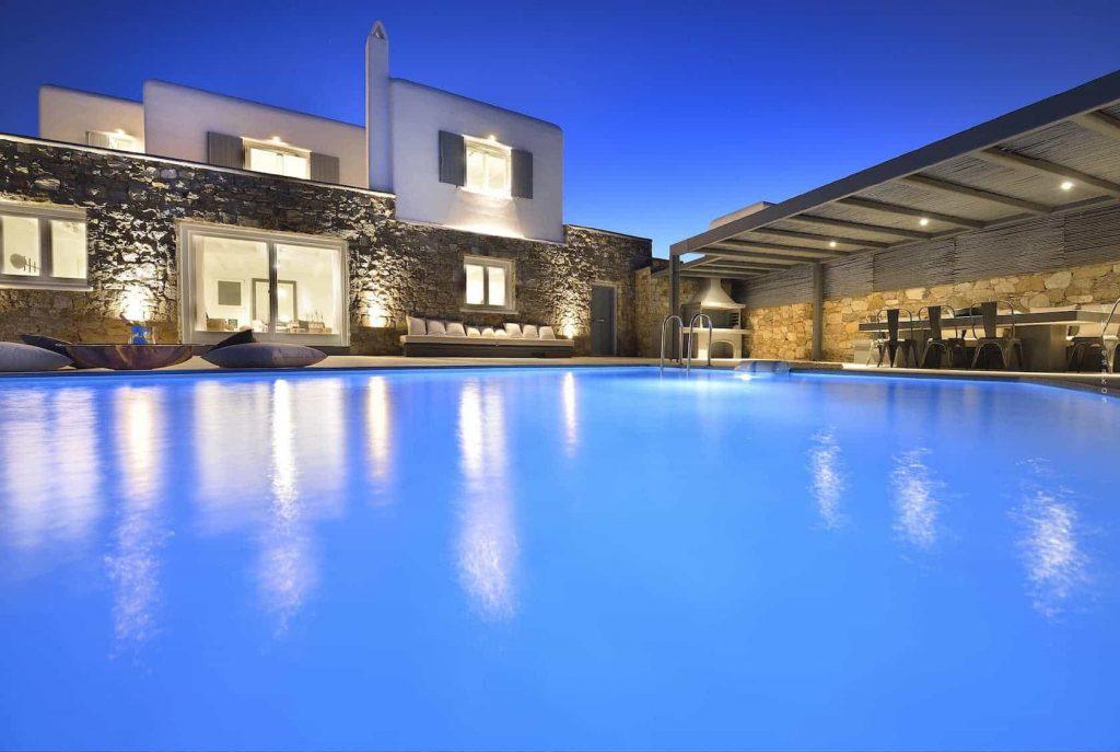 Mykonos luxury villa BlancaUno40