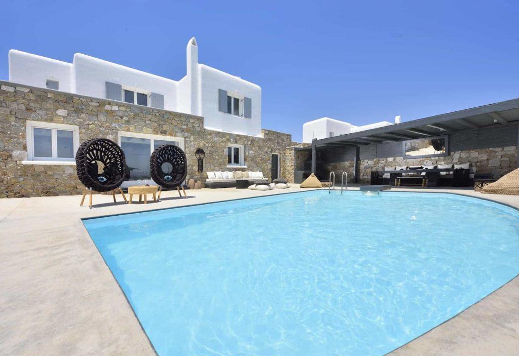 Mykonos luxury villa BlancaUno42
