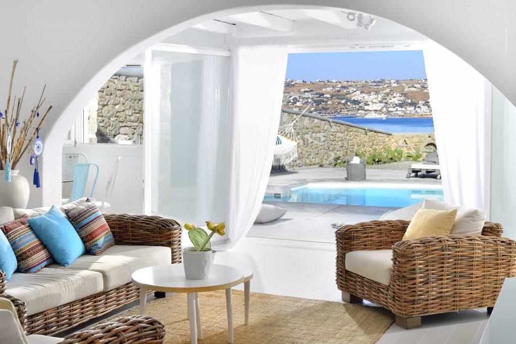 Mykonos luxury villa BlancaDuo11