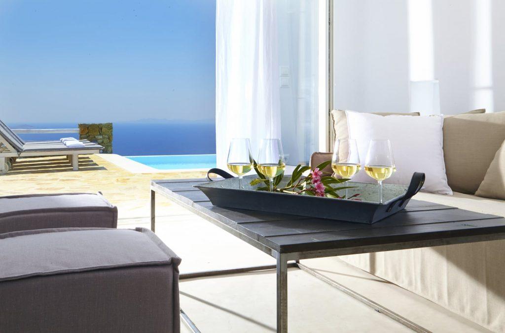 Mykonos Luxury Villa Crystal Light10