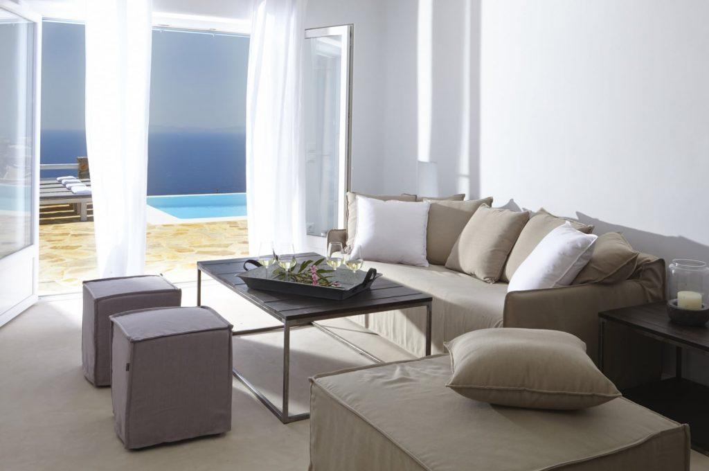 Mykonos Luxury Villa Crystal Light12