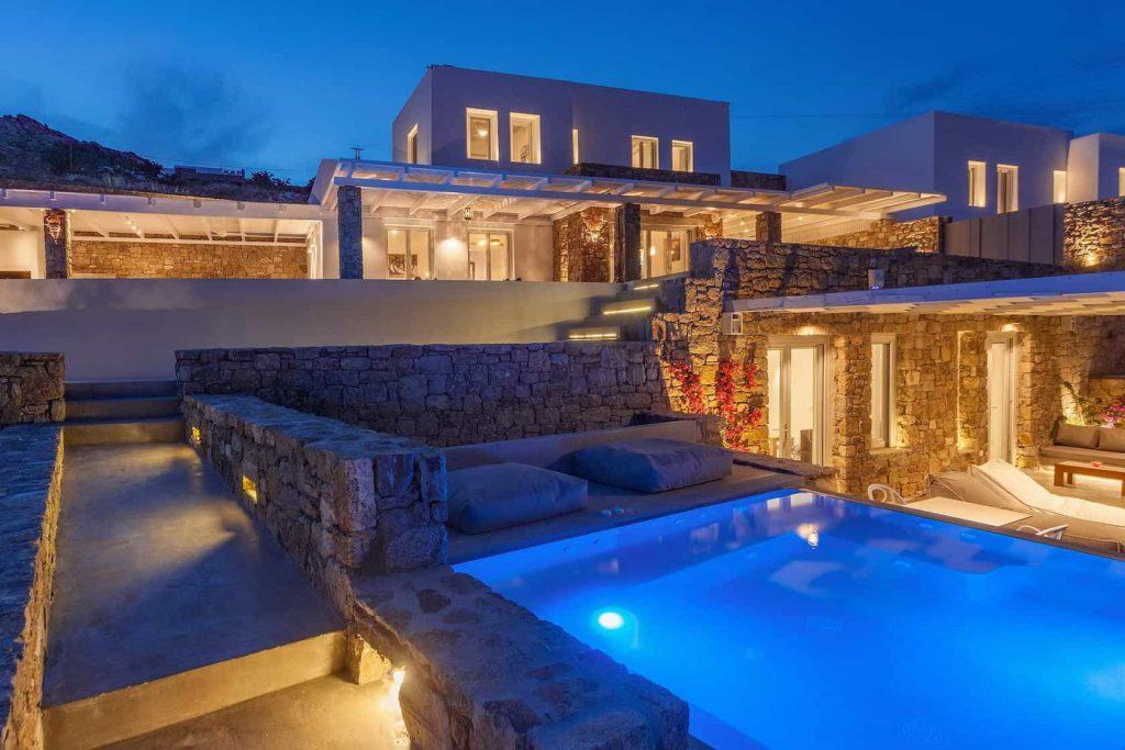 Mykonos luxury villa EliaII42