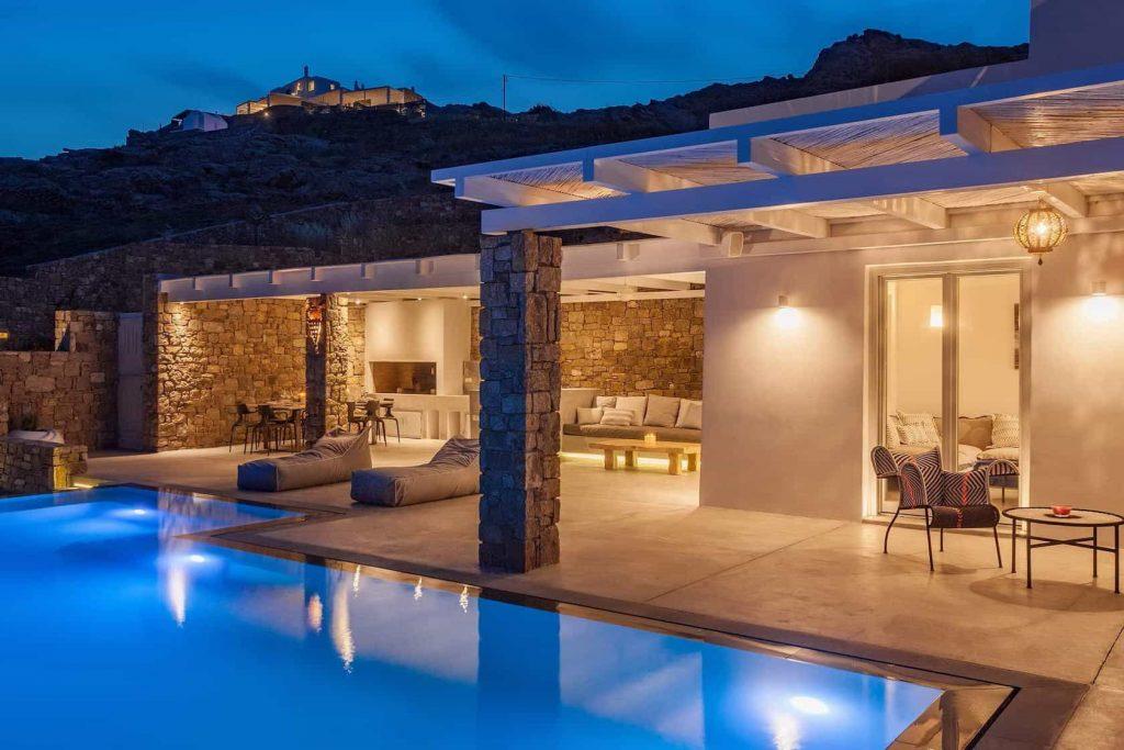 Mykonos luxury villa EliaII43