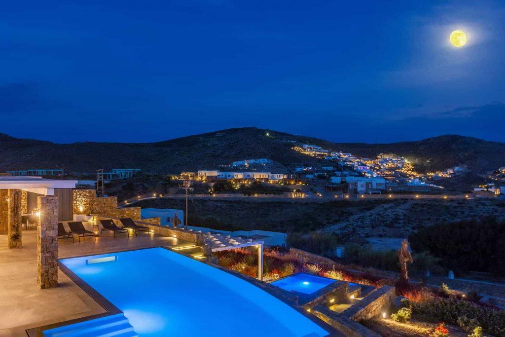 Mykonos luxury villa EliaII44