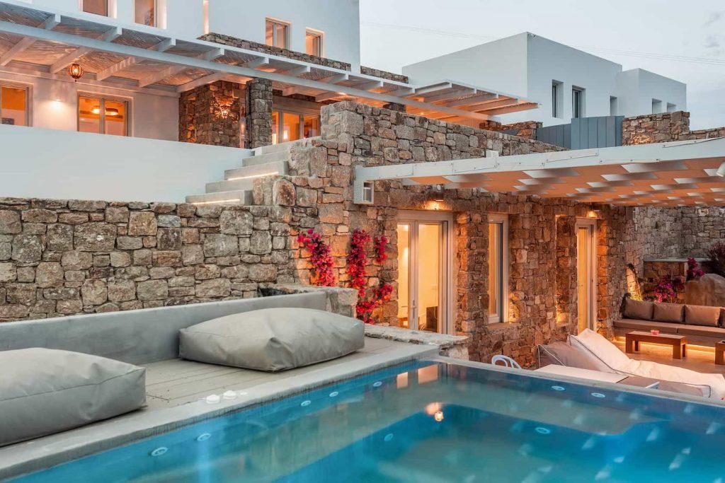 Mykonos luxury villa EliaII45