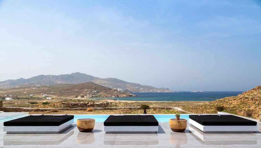 Mykonos Luxury Villa Ftelia Black I1