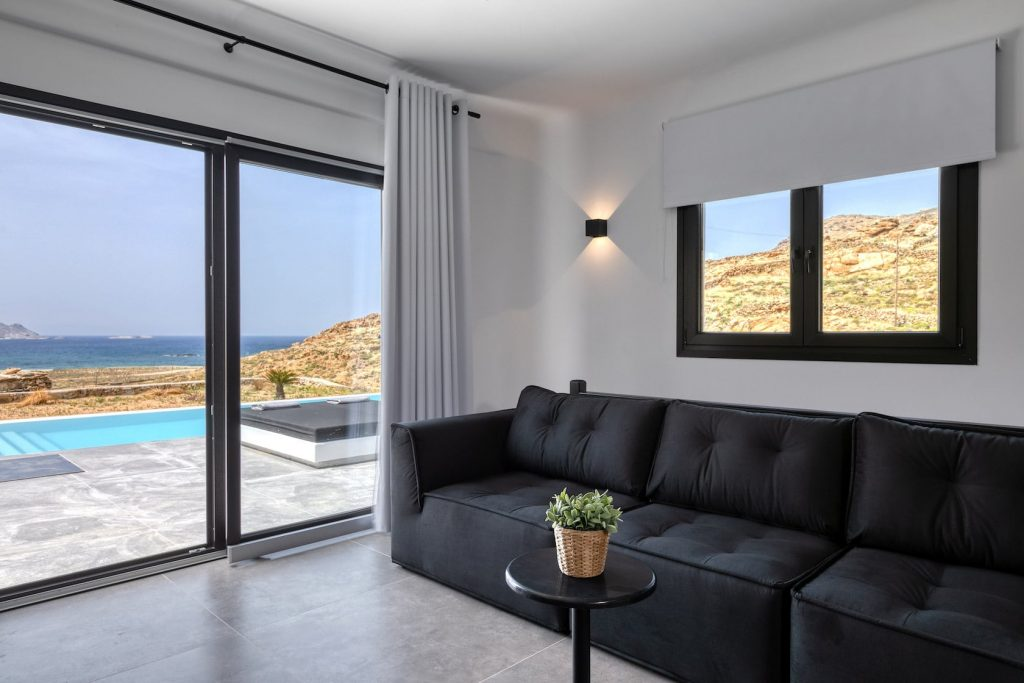 Mykonos Luxury Villa Ftelia Black I12