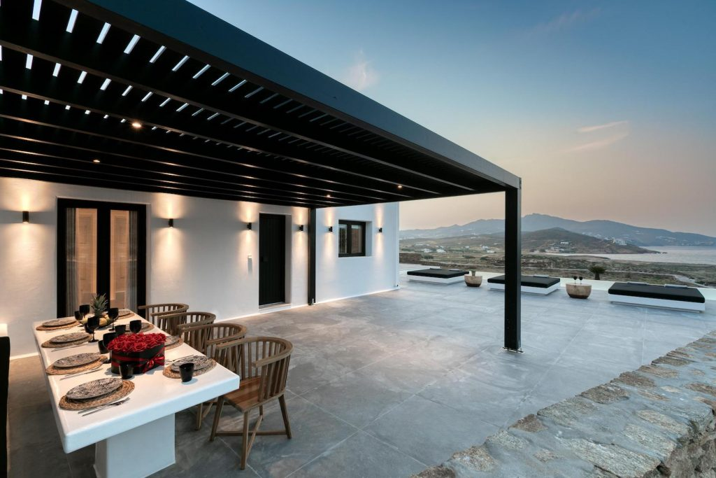 Mykonos Luxury Villa Ftelia Black I18