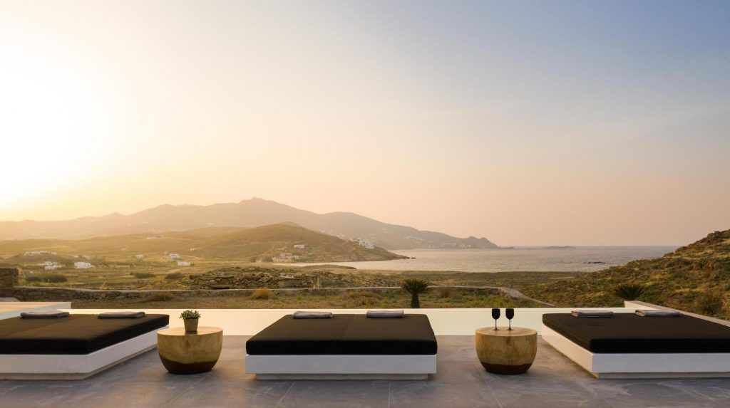 Mykonos Luxury Villa Ftelia Black I6