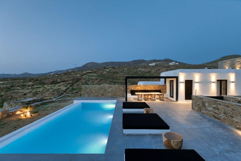 Mykonos Luxury Villa Ftelia Black II1