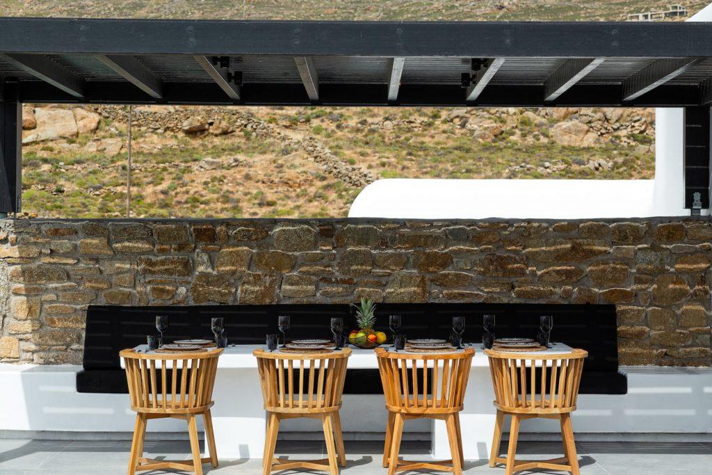 Mykonos Luxury Villa Ftelia Black II10