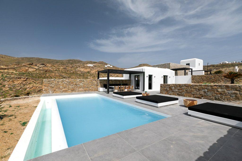 Mykonos Luxury Villa Ftelia Black II11