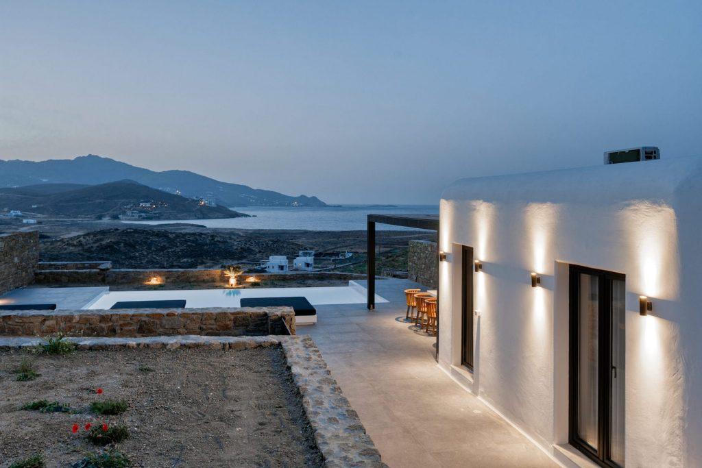 Mykonos Luxury Villa Ftelia Black II3
