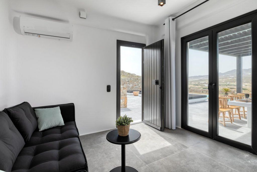 Mykonos Luxury Villa Ftelia Black II5