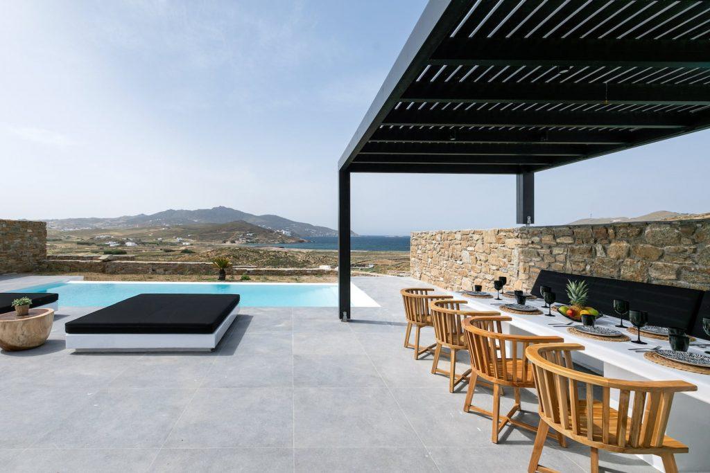 Mykonos Luxury Villa Ftelia Black II6