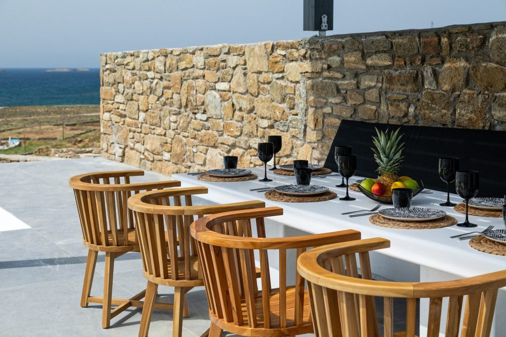 Mykonos Luxury Villa Ftelia Black II7