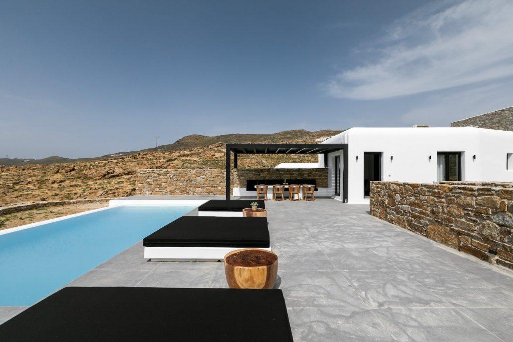 Mykonos Luxury Villa Ftelia Black II8