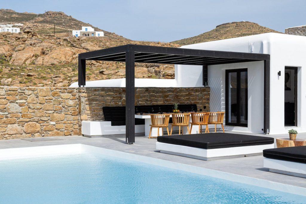 Mykonos Luxury Villa Ftelia Black II9