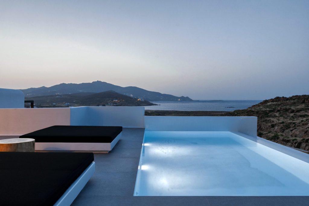 Mykonos Luxury Villa Ftelia Black III0