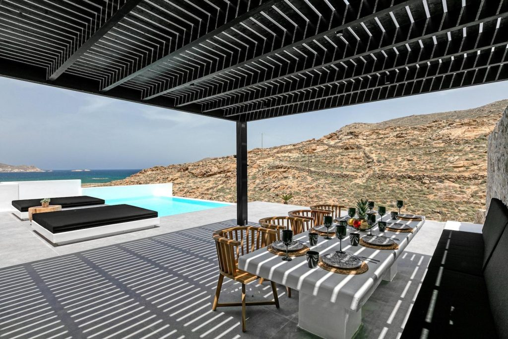 Mykonos Luxury Villa Ftelia Black III11
