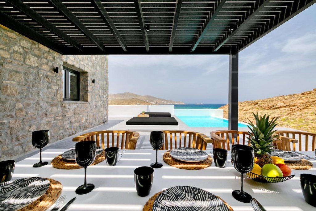 Mykonos Luxury Villa Ftelia Black III12