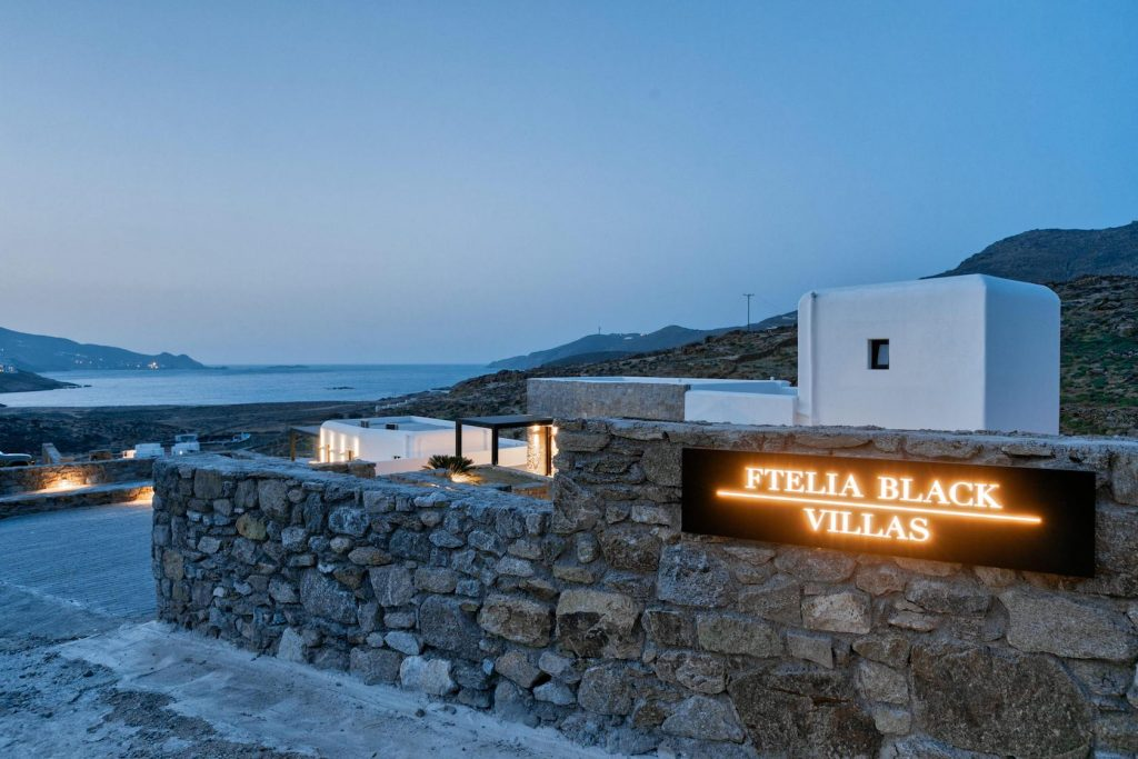 Mykonos Luxury Villa Ftelia Black III4