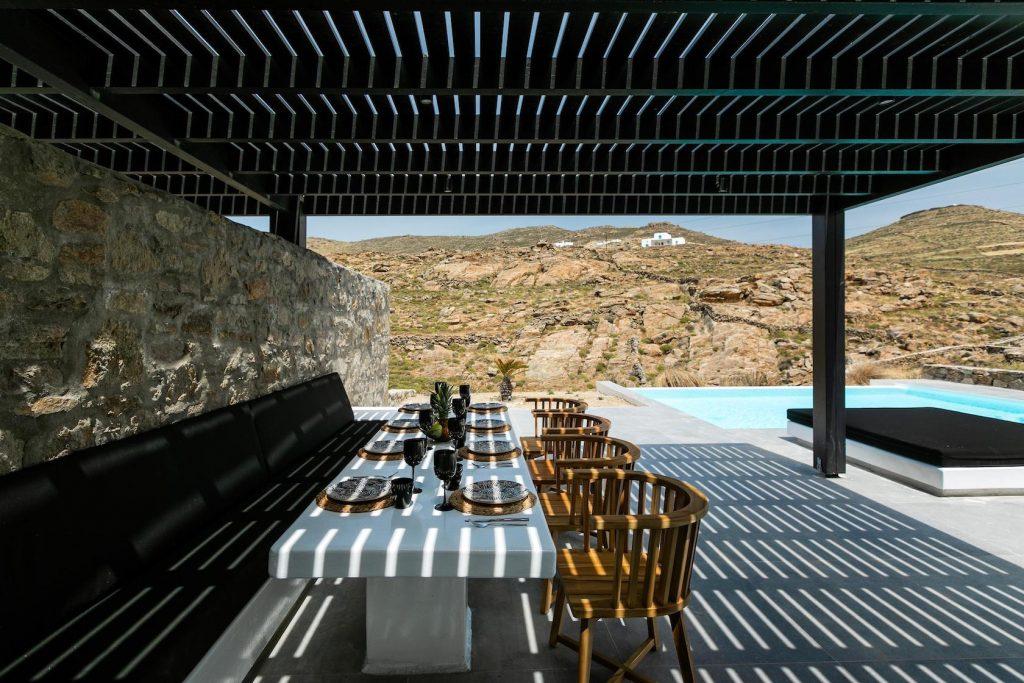 Mykonos Luxury Villa Ftelia Black IV1