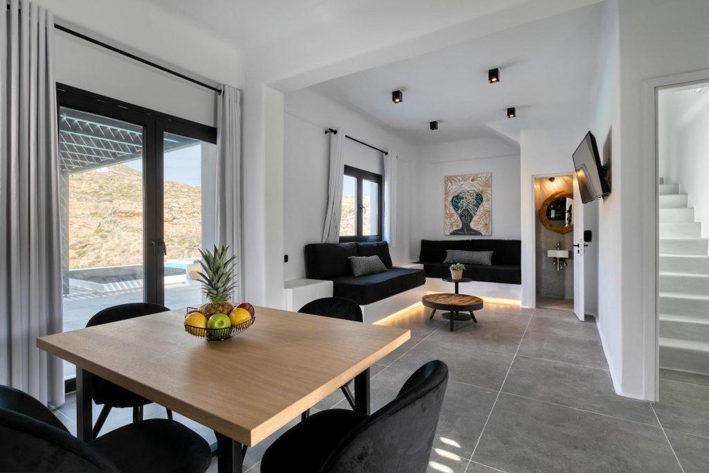 Mykonos Luxury Villa Ftelia Black IV10