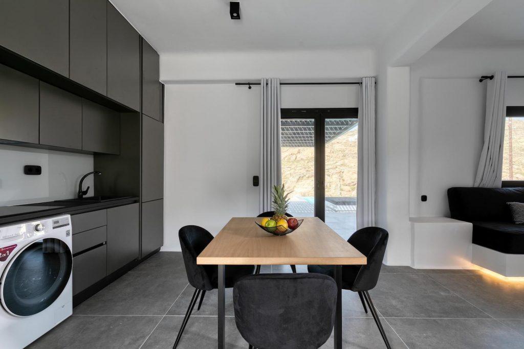 Mykonos Luxury Villa Ftelia Black IV11