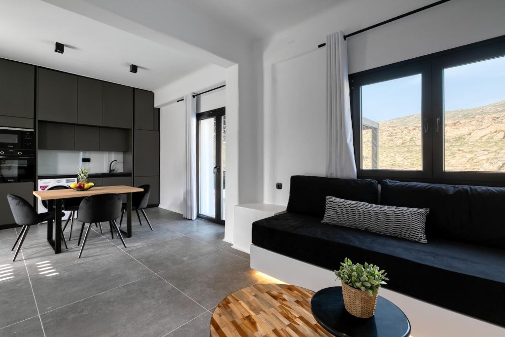 Mykonos Luxury Villa Ftelia Black IV12