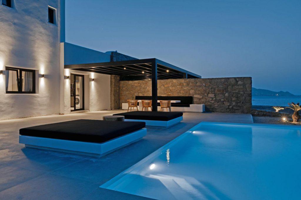 Mykonos Luxury Villa Ftelia Black IV3