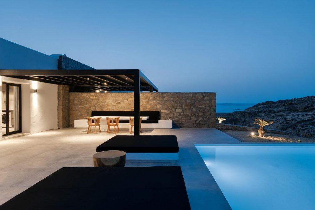 Mykonos Luxury Villa Ftelia Black IV4