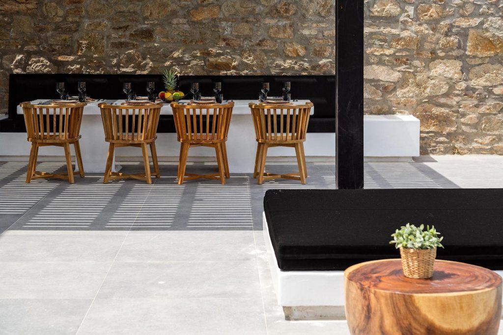 Mykonos Luxury Villa Ftelia Black IV5
