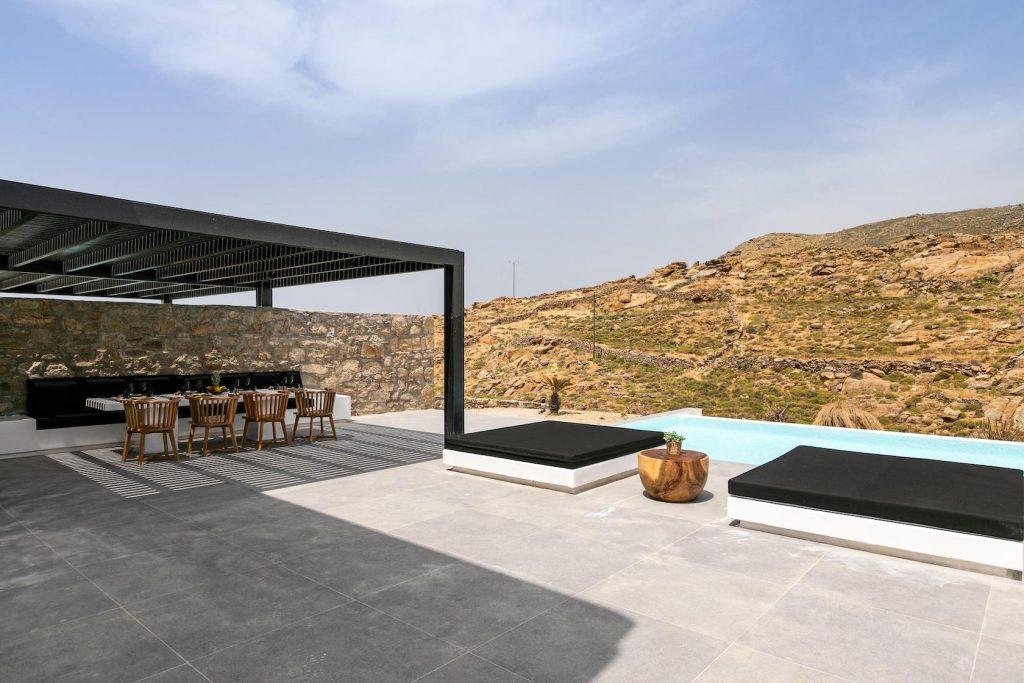 Mykonos Luxury Villa Ftelia Black IV7