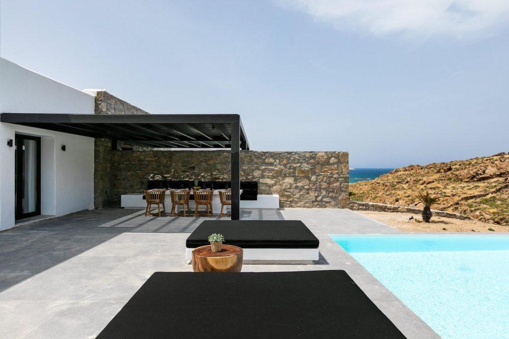 Mykonos Luxury Villa Ftelia Black IV8