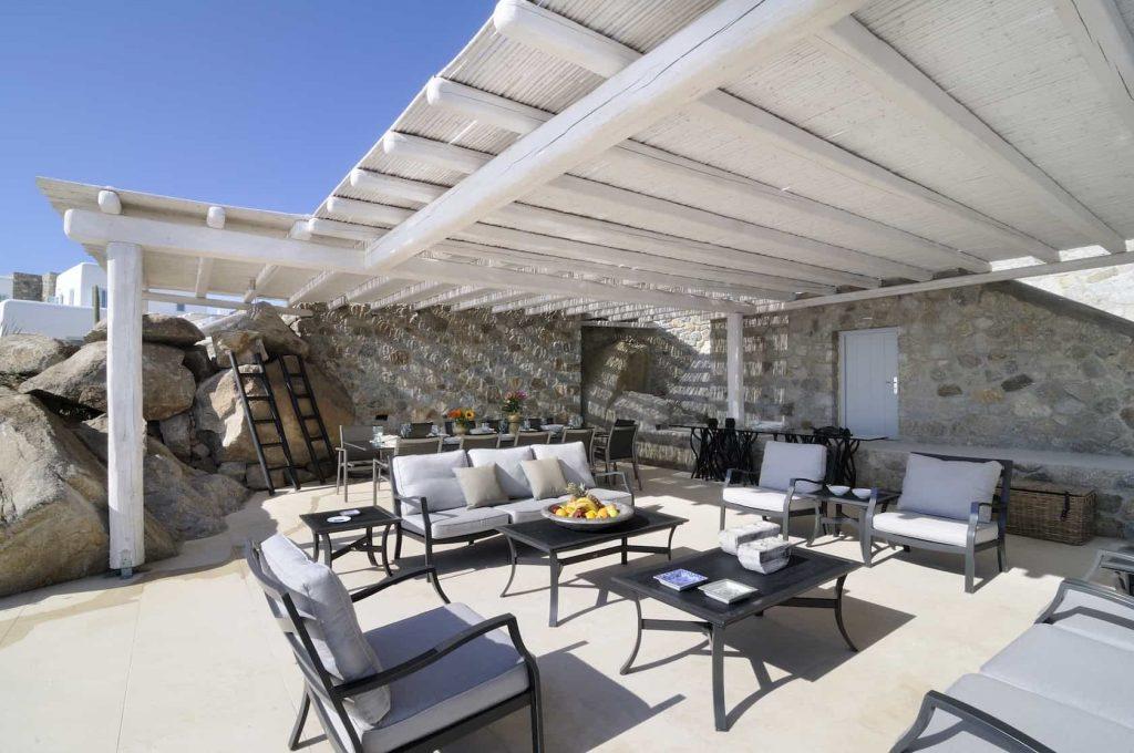 Mykonos luxury villa Irene10