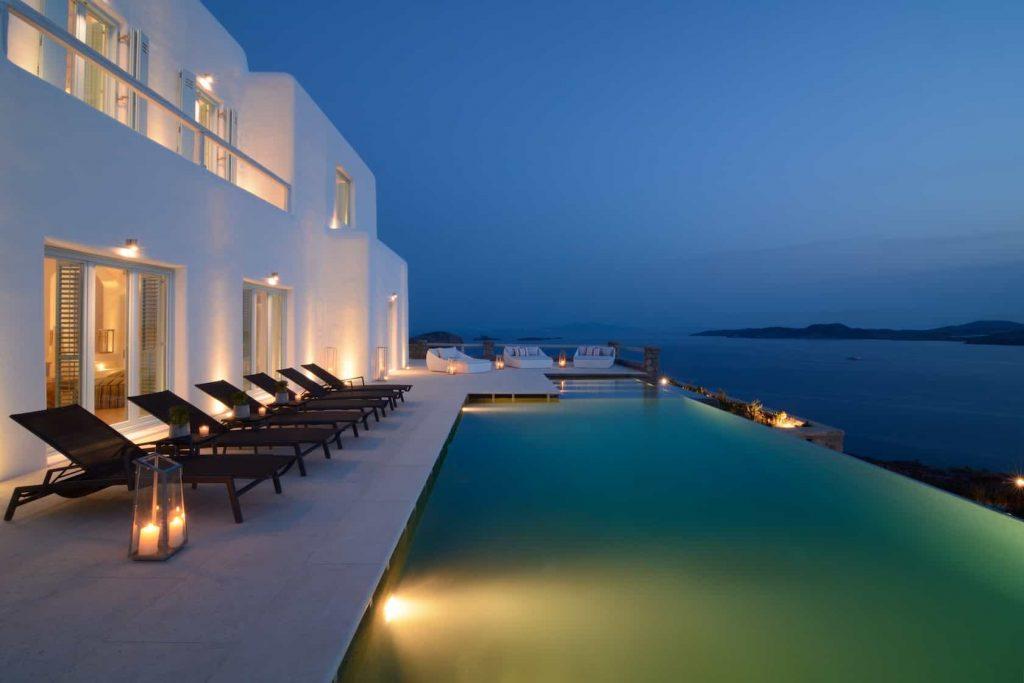 Mykonos luxury villa Irene42