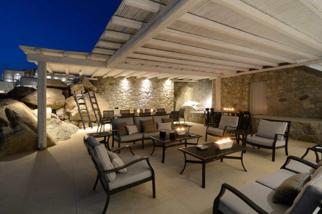 Mykonos luxury villa Irene44