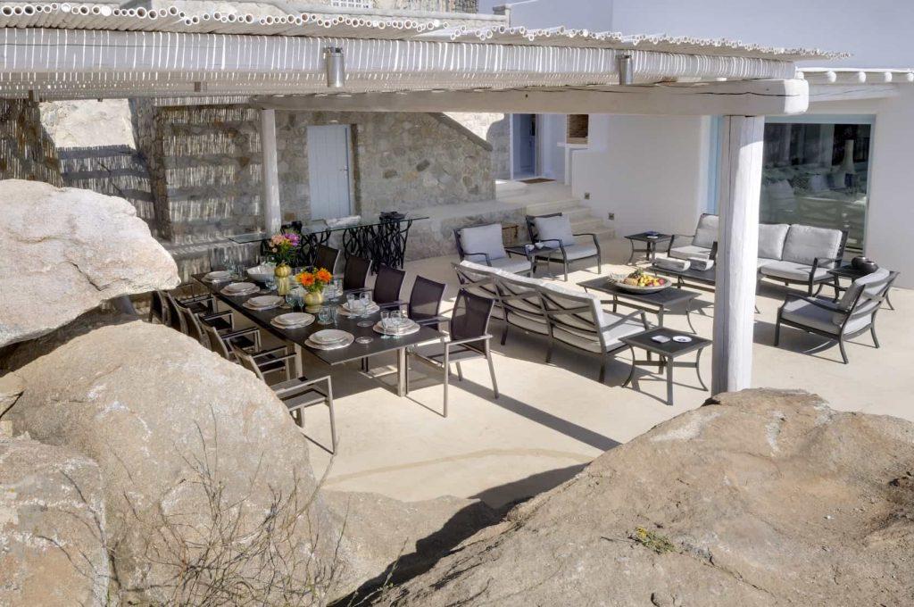 Mykonos luxury villa Irene7