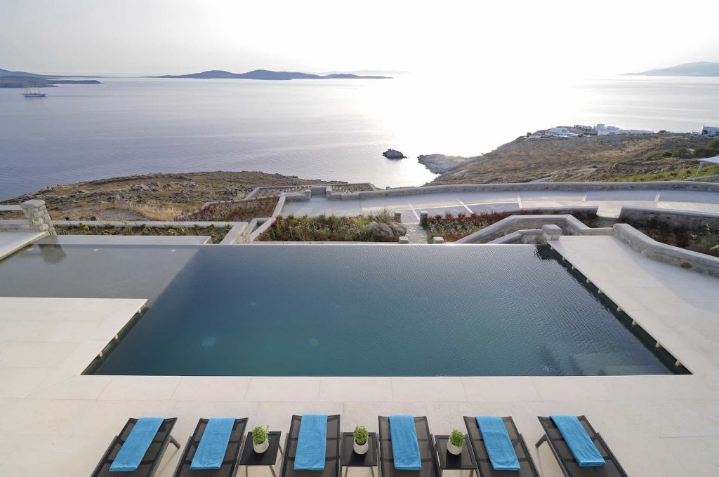 Mykonos luxury villa Rene Resort