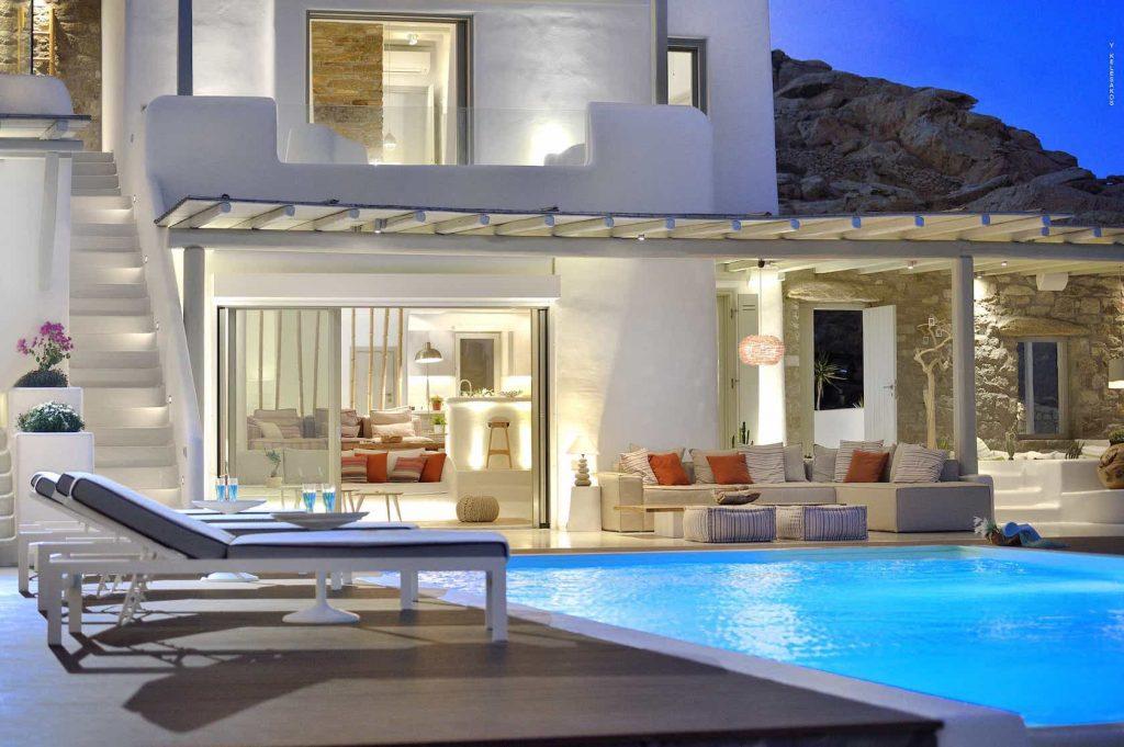Mykonos luxury villa Malena41